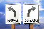 insource vs outsource signs