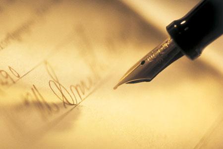 prepare a legal document.